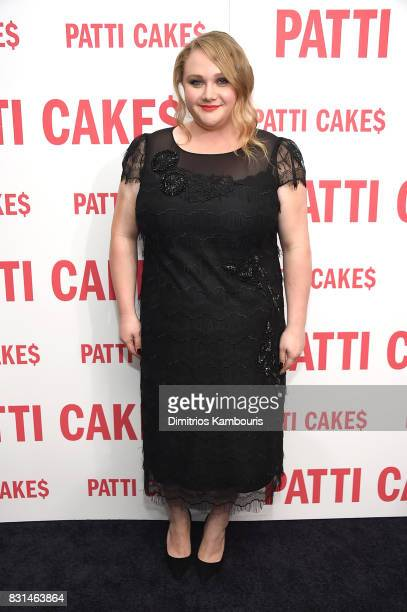 Danielle Macdonald attends the 'Patti Cake$' New York Premiere at The Metrograph on August 14 2017 in New York City