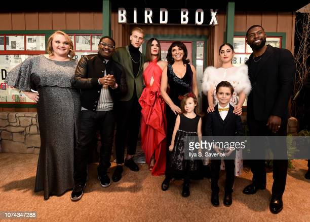 Danielle Macdonald Lil Rel Howery Colson Baker Sandra Bullock Susanne Bier Vivien Blair Julian Edwards Rosa Salazar and Trevante Rhodes attend the...
