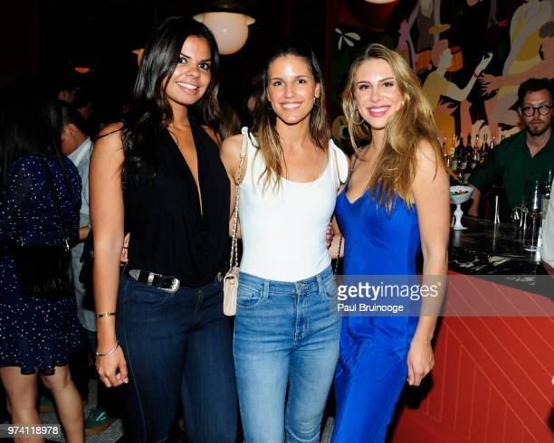 Danielle Mederos Elyse Murphy and Kelsey Barenberg attend MarVista Entertainment And Parkside Pictures With The Cinema Society Host The After Party...