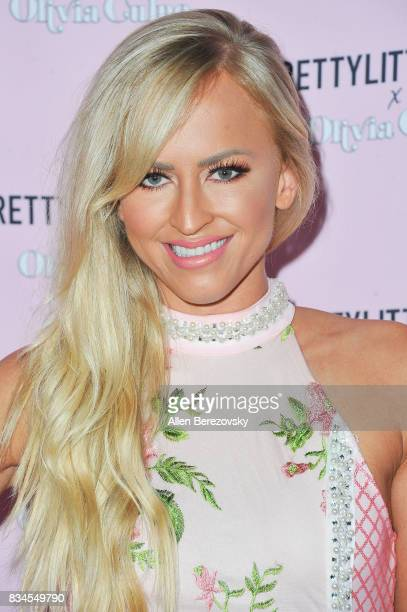 Danielle Moinet aka Summer Rae attends PrettyLittleThing X Olivia Culpo Launch at Liaison Lounge on August 17 2017 in Los Angeles California