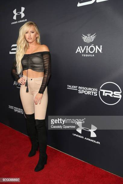 Danielle Moinet Attends Tequila Avion hosts NBA AllStar After Party presented by Talent Resources on February 17 2018 in Beverly Hills California