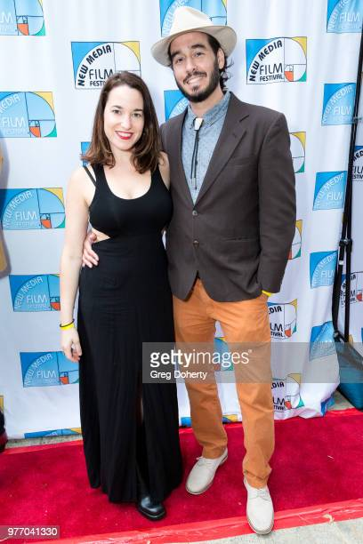 Danielle Neff and Michael Worchel attend the 9th Annual New Media Film Festival at James Bridges Theater on June 16 2018 in Los Angeles California