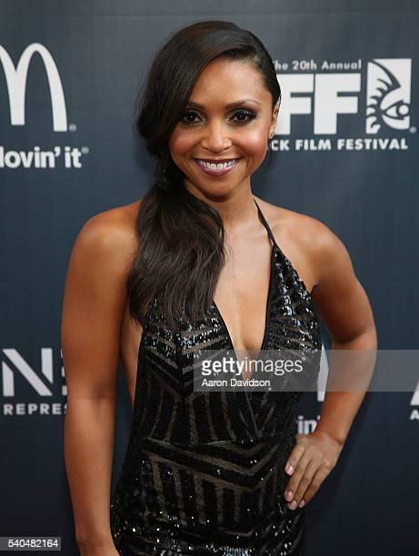 Danielle Nicolet attends American Black Film Festival - Opening Night on June 16, 2016 in Miami, Florida.