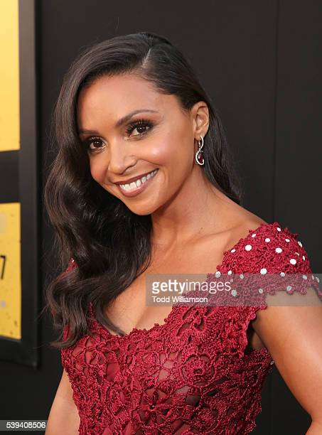 Danielle Nicolet attends the premiere Of Warner Bros Pictures' Central Intelligence at Westwood Village Theatre on June 10 2016 in Westwood California