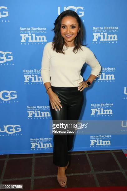 Danielle Nicolet attends the Virtuosos Award presentation during the 35th Santa Barbara International Film Festival at Arlington Theatre on January...