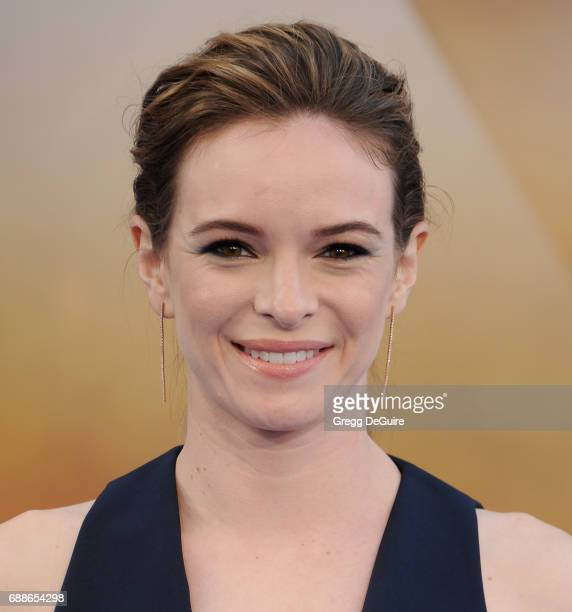 Danielle Panabaker arrives at the premiere of Warner Bros Pictures' Wonder Woman at the Pantages Theatre on May 25 2017 in Hollywood California