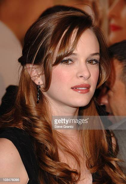 Danielle Panabaker arrives to the premiere of Universal Pictures Charlie Wilson's War at City Walk Cinemas on December 10 2007 in Universal City...