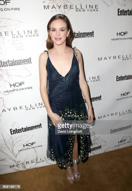Danielle Panabaker attends Entertainment Weekly's Screen Actors Guild Award Nominees Celebration sponsored by Maybelline New York at Chateau Marmont...