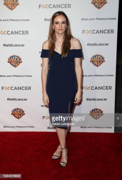 Danielle Panabaker attends FCancer's 1st Annual Barbara Berlanti Heroes Gala at Warner Bros. Studios on October 13, 2018 in Burbank, California.