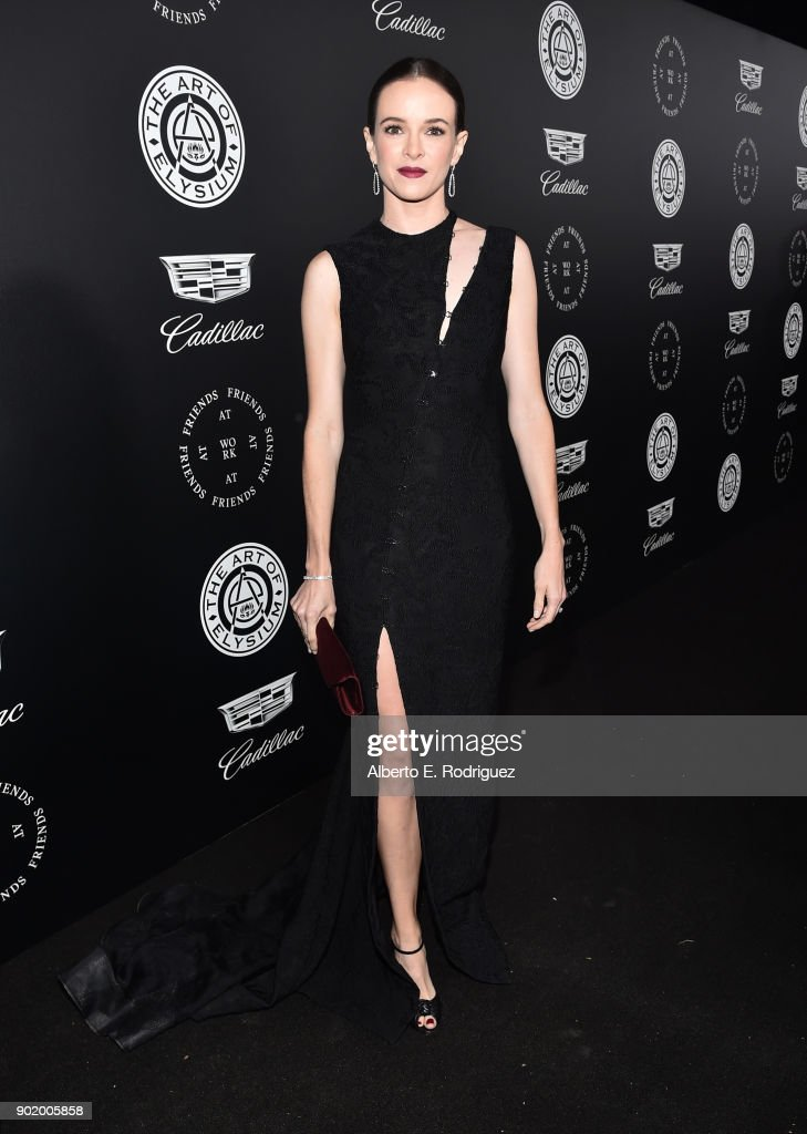 Danielle Panabaker attends The Art Of Elysium's 11th Annual Celebration on January 6, 2018 in Santa Monica, California.
