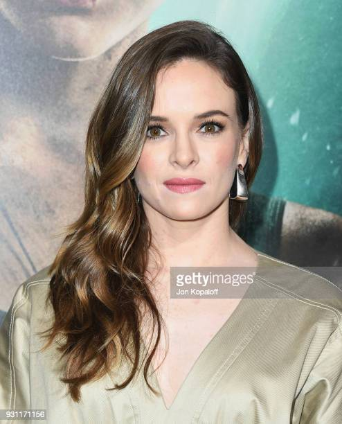 Danielle Panabaker attends the Los Angeles Premiere 'Tomb Raider' at TCL Chinese Theatre IMAX on March 12 2018 in Hollywood California