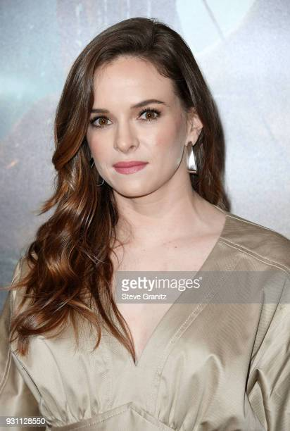 Danielle Panabaker attends the premiere of Warner Bros Pictures' Tomb Raider at TCL Chinese Theatre on March 12 2018 in Hollywood California