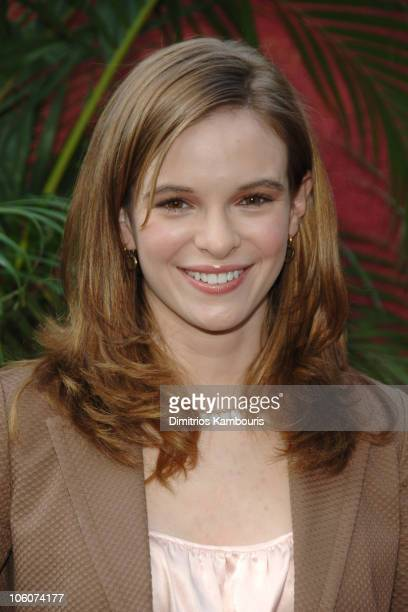 Danielle Panabaker during CBS 2006/2007 Upfront Red Carpet at Tavern on the Green in New York City New York United States
