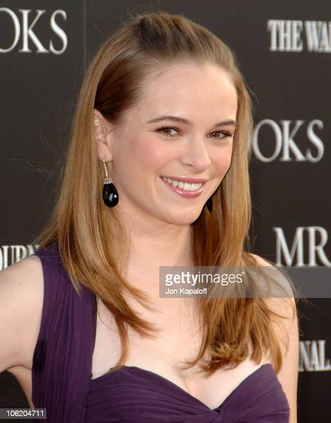 Danielle Panabaker during Mr Brooks Los Angeles Premiere Arrivals at Gruaman's Chinese Theater in Hollywood California United States