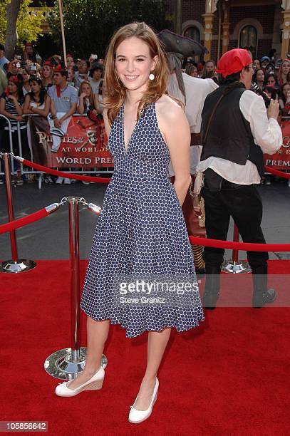 """Danielle Panabaker during """"Pirates of the Caribbean: At World's End"""" World Premiere - Arrivals at Disneyland in Anaheim, California, United States."""