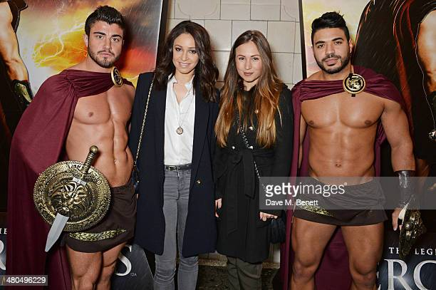 Danielle Peazer and guests attend a VIP screening of The Legend Of Hercules at The Courthouse Hotel on March 25 2014 in London England
