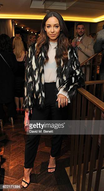 Danielle Peazer attends 5 Years of Gazelli SkinCare on November 10 2016 in London England