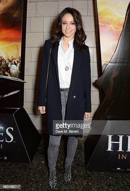 Danielle Peazer attends a VIP screening of The Legend Of Hercules at The Courthouse Hotel on March 25 2014 in London England