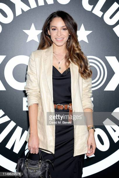 Danielle Peazer attends KOBOX New Flagship studio launch party on King's Road on May 16 2019 in London England