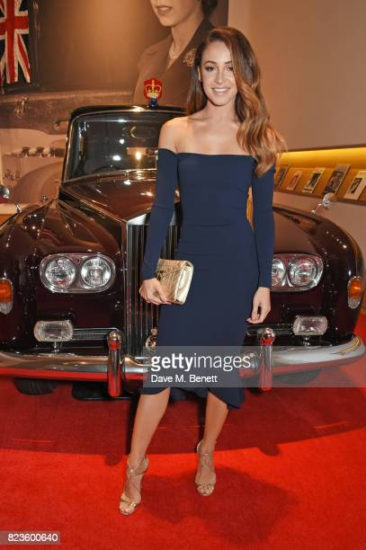 Danielle Peazer attends the global debut of the new RollsRoyce Phantom at Bonhams on July 27 2017 in London England