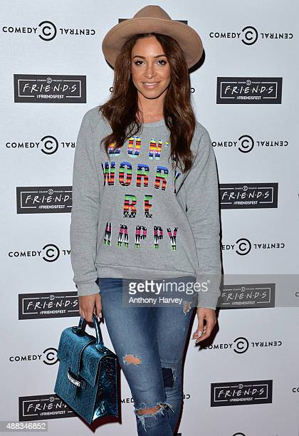 Danielle Peazer attends the launch of Friendsfest at The Boiler HouseThe Old Truman Brewery on September 15 2015 in London England
