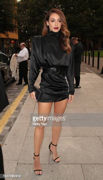 Danielle Peazer seen attending GQ Men of the Year Awards at Tate Modern on September 5 2018 in London England
