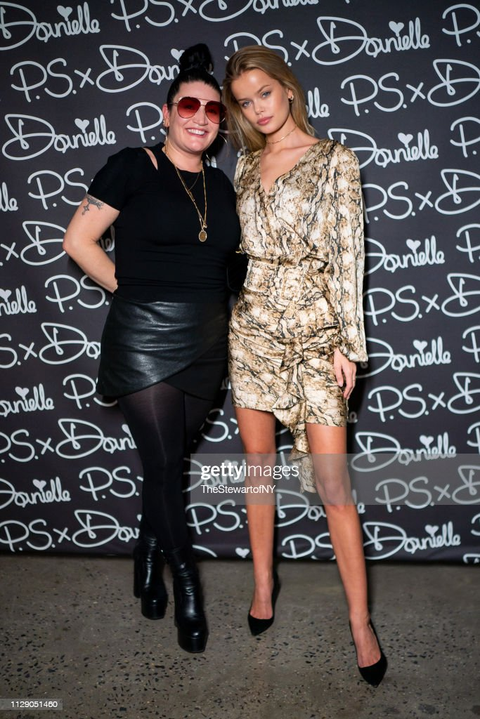 Danielle Priano and Frida Aasen attend P S  x Danielle