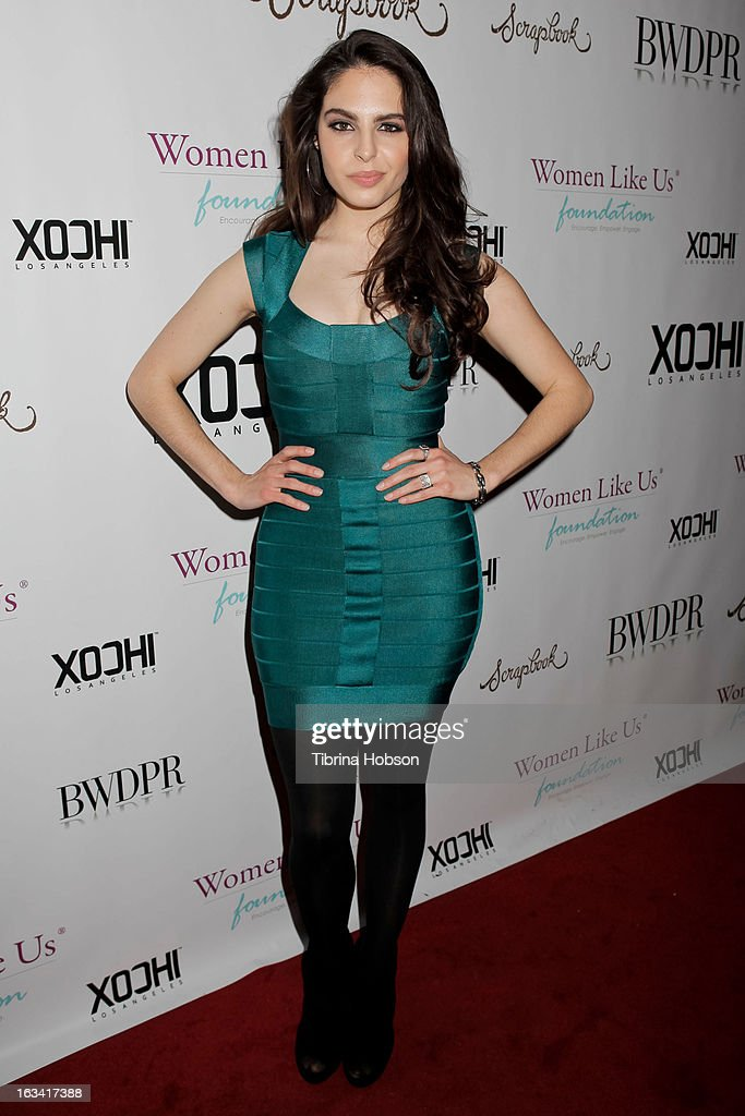 Danielle Ricci attends the pre-LAFW launch party in support of the Women Like Us Foundation at Lexington Social House on March 8, 2013 in Hollywood, California.