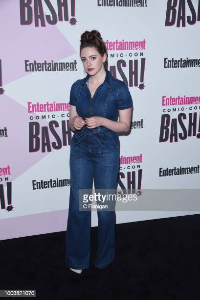 Danielle Rose Russell attends the annual Entertainment Weekly ComicCon Celebration at Float at Hard Rock Hotel San Diego on July 21 2018 in San Diego...