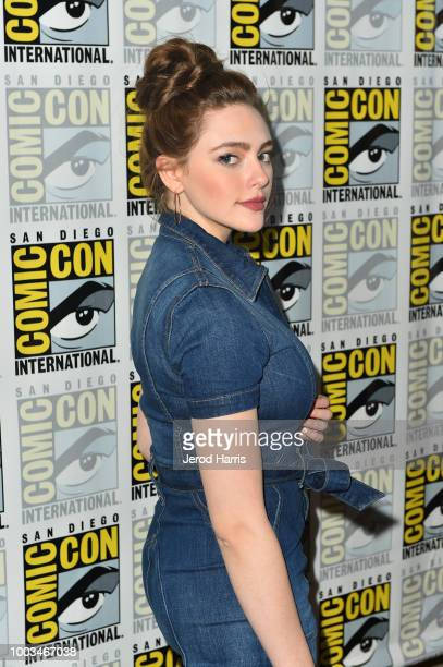 Danielle Rose Russell attends the 'Legacies' Press Line during ComicCon International 2018 at Hilton Bayfront on July 21 2018 in San Diego California