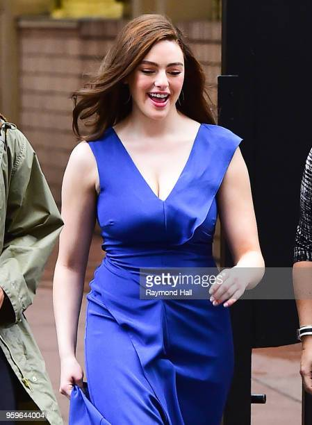 Danielle Rose Russell is seen walking in midtown on May 17 2018 in New York City