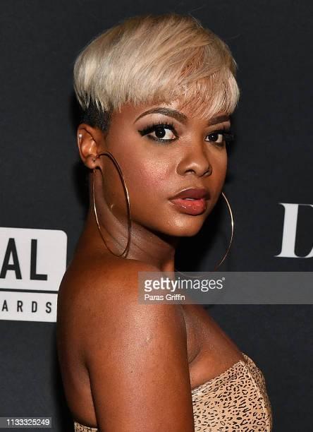 Danielle Rosias attends 2018 BET Social Awards Dinner at TWELVE Atlantic Station on March 02 2019 in Atlanta Georgia