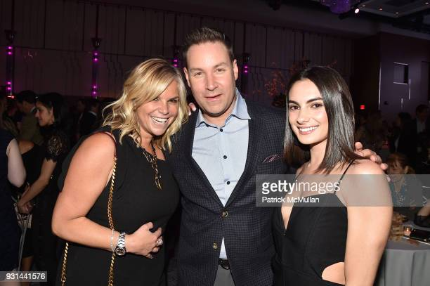 Danielle Rossen Jeff Rosen and Paige Desorbo attend NYU Langone's Playing for Pediatrics Winter Game Night at The Ziegfeld Ballroom on March 8 2018...