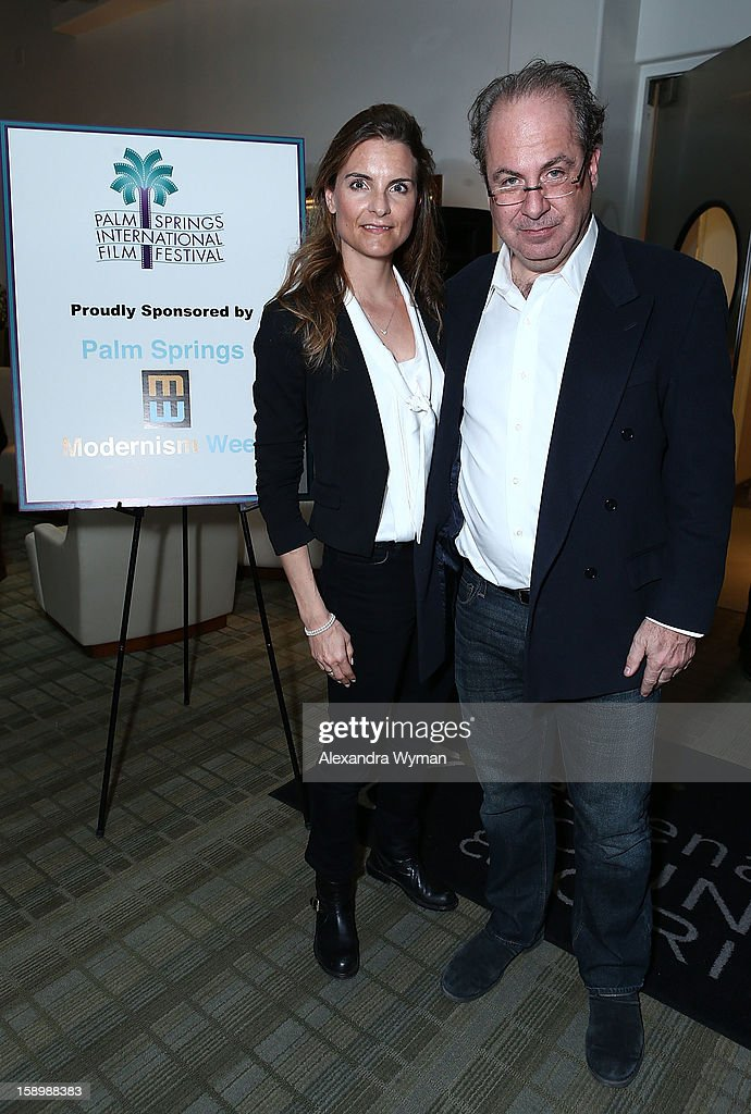 Danielle Salm and Tom Hayes at The 24th Annual Palm Springs International Film Festival Screenings And Events on January 4, 2013 in Palm Springs, California.