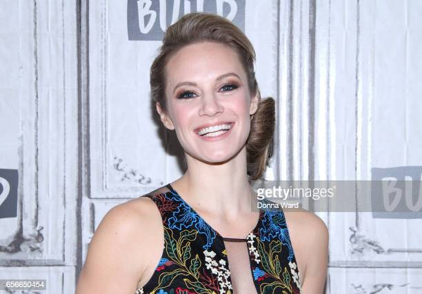 Danielle Savre appears to promote Too Close To Home during the BUILD Series at Build Studio on March 22 2017 in New York City