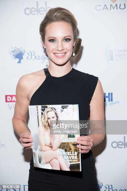 Danielle Savre attends 'Resident Magazine' March Issue Cover Celebration at Bagatelle on March 22 2017 in New York City