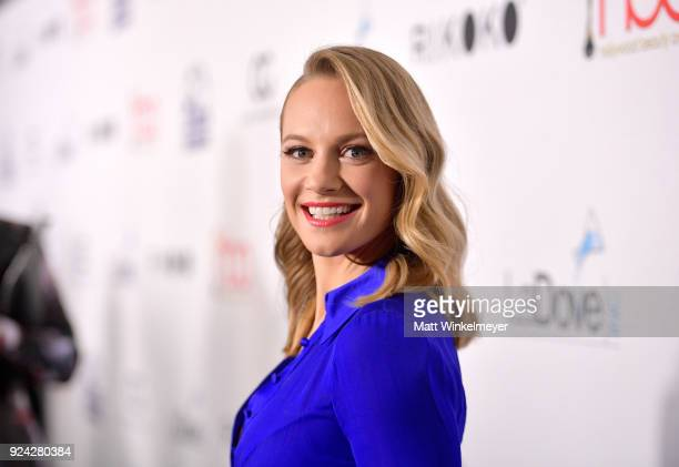 Danielle Savre attends the 4th Hollywood Beauty Awards at Avalon Hollywood on February 25 2018 in Los Angeles California