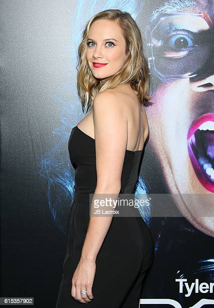 Danielle Savre attends the premiere of Lionsgate's 'Boo A Madea Halloween' on October 17 2016 in Hollywood California