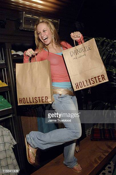Danielle Savre during Jesse McCartney and 'Summerland' Cast Visit Hollister Store in Newport Beach at Newport Fashion Island in Newport Beach...