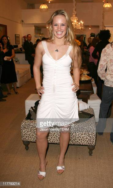 Danielle Savre during Soulmate's Diamonds for a Girl's Best Friend Launch Celebration with Sponsors Delilah Bakery Dubonnet Godiva and Perrier at...