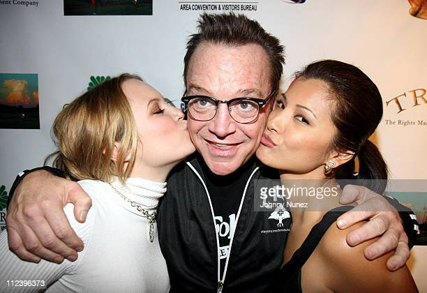 Danielle Savre Tom Arnold and Kelly Hu during 6th Annual Tribeca Film Festival The Final Season After Party at The Safe Harbor Loft in New York New...