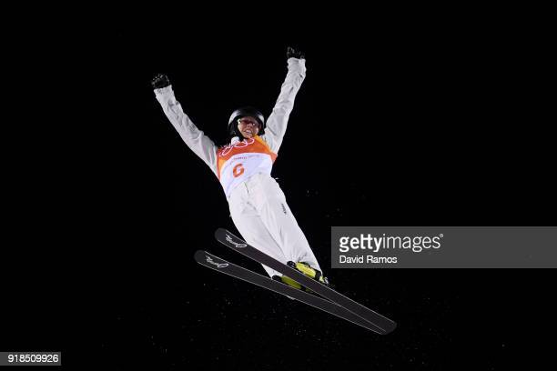 Danielle Scott of Australia competes during the Freestyle Skiing Ladies' Aerials Qualification on day six of the PyeongChang 2018 Winter Olympic...