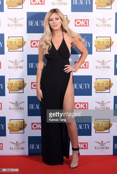 Danielle Sellers attends The Beauty Awards at Tower of London on November 28 2017 in London England