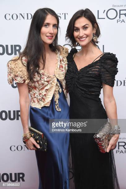 Danielle Snyder and Jodie Snyder Morel attend Glamour's 2017 Women of The Year Awards at Kings Theatre on November 13 2017 in Brooklyn New York