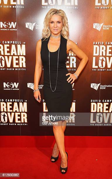 Danielle Spencer arrives ahead of the premiere of Dream Lover The Bobby Darin Musical at Lyric Theatre Star City on October 6 2016 in Sydney Australia