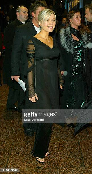 """Danielle Spencer during """"Master & Commander: Far Side Of The World"""" - 2003 CTBF Royal Film Performance at Odeon Cinema, Leicester Sq in London, Great..."""