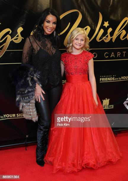 Danielle Staub and Darci Lynne attend the 2017 One Night With The Stars Benefit at The Theater at Madison Square Garden on December 4 2017 in New...