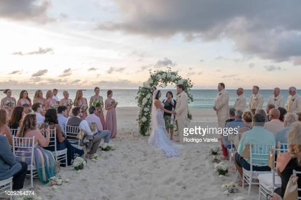 Danielle Staub and Martin Caffrey get married in Bimini on May 5 2018 in Bimini Bahamas