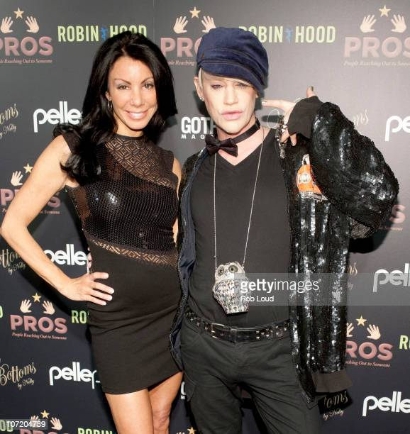 Danielle Staub and Richie Rich attend the Tear Up The Pierre at The Pierre Hotel on November 29 2010 in New York City