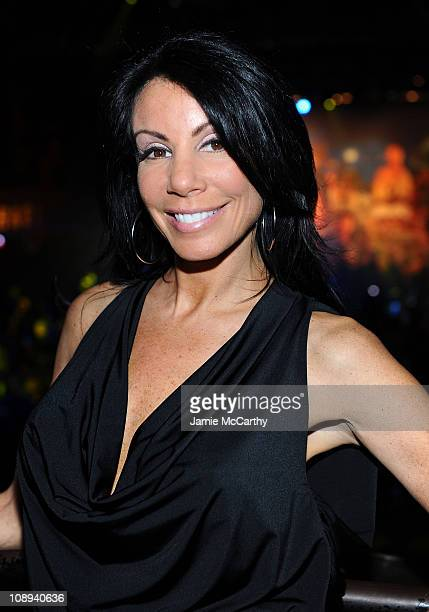 Danielle Staub attends a fan celebration of the new Michael Jackson album 'MICHAEL' at Roseland Ballroom on December 13 2010 in New York City